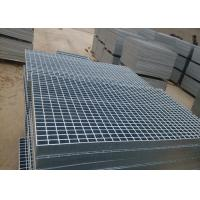 Quality Plain galvanised floor grating , 3 / 5mm Thickness walkway mesh grating wholesale