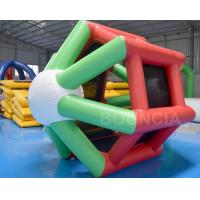 Quality Bule Durable Inflatable Water Roller wholesale