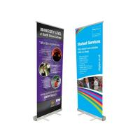 Quality Innovative Advertising Stand Up Banners Convenient To Transport Attractive Easy Carry wholesale