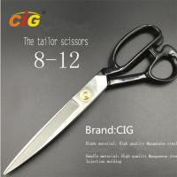"Quality 8"" - 12"" Stainless Steel Tailor Scissors For Cutting Fabric , Leather wholesale"