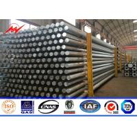 China 8 Sided 24M Clase 3000 Metal Steel Utility Poles For Transmission Overhead Line on sale