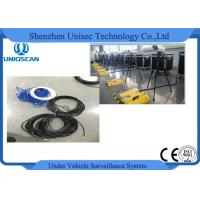 Quality Mobile Type Under Vehicle Inspection System , Under Vehicle Surveillance System 22 Lcd Screen wholesale