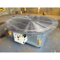 China 0.01 - 0.1rpm Pipe Welding Positioners , 5000 lbs Capacity Rotary Welding Turn Table on sale