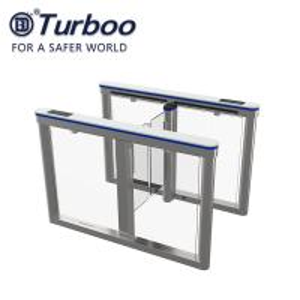 Quality SUS Biometric High Speed Gate Turnstile Security QR Code ReaderAC 100-240V Servo Motor wholesale