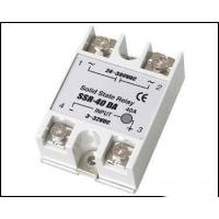 Quality Fotek Type Electrical Relay / Solid State Variable Relay With LED Indication SSR-40DA wholesale