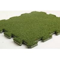 Quality Natural Fake Turf Grass / Diy Interlocking Removable Artificial Grass wholesale