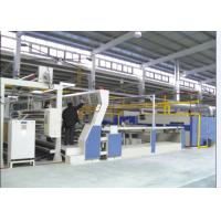 Quality Air / Water Cooling Hot Air Stenter Machine For Artificial Fur Carpets Coating And Drying wholesale