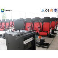 Cheap 5D Movie Theater 5D Cinema System With 5D Movie / Speaker 2 Years Warranty for sale