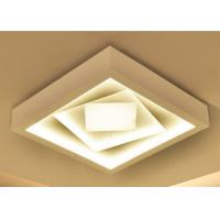 China Ultra Thin Energy Saving Led Ceiling Light , ABS Hardware Led Ceiling Panels on sale
