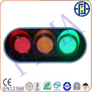 China 300mm RYG full ball LED Vehiche traffic lights on sale