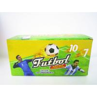Quality World Cup Multi Fruit Flavor CC Stick Candy With Tattoo Stick And Soccer Whistle wholesale
