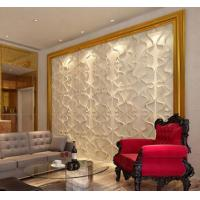 Cheap Paintable PVC Wall Panels Light Weight Composite Wall Board TV Background for sale