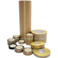 China Standard PTFE (Teflon) Coated Fiberglass Silicone Tape on sale