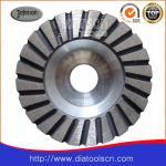 Quality Light Weight 100-180mm Turbo Diamond Grinding Wheels With Aluminium Core wholesale