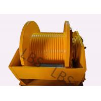 Quality Hydraulic Brake Hoist Winch 140KN With Lebus Grooving For Offshore Ship / Construction Lifting wholesale