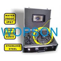 Quality REAL COLOR 7inch LCD Pipeline SEWER PIPE VIDEO INSPECTION CAMERA SYSTEM Underwater Camera wholesale