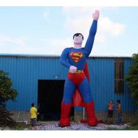 Quality 8 m ( 26 ft ) H Giant Beautiful Inflatable Super man for Decoration/Advertising/Promotion wholesale