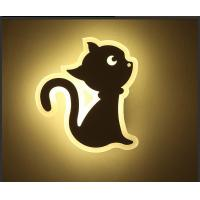 Quality CAT Acrylic LED indoor wall lighting /Interior led wall lamp for kids room wholesale