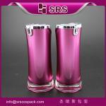 Quality L092 radian shape skincare lotion bottle,beauty cream container wholesale