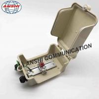 Buy cheap ANSHI single 1 Paris Outdoor Distribution Terminal STB Module Box With Grounding Wire Din Rail from wholesalers