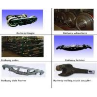 Railway car parts,  train parts,  railway parts,  railway bogie,  railway wheelsets,  railway axle