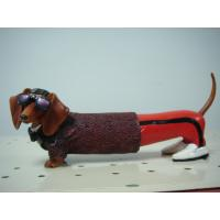 Quality Cool Glasses Dachshund Polyester Epoxy Resin Crafts Sculpture Artists for Home Decor wholesale