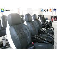 Quality Genuine PU Leather Movie Theater Seat Dynamic For 5D Cinema System wholesale
