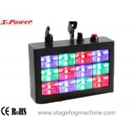 Quality Sound-activated LED Strobe Lights With 12 pcs * 1w RGB High Power LEDs  VS-74 wholesale
