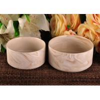 Quality 400ml decorative Ceramic Candle Holder 14OZ 20OZ 35OZ Three capacity wholesale