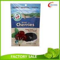 Quality Dried Healthy Gouji Berries packaging Pouch , Bottom Gusset Ziplock Bags wholesale