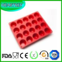 New 20-Cavity Shell Cake Chocolate Baking Pans Silicone Baking Tray Pudding Molds Bakeware