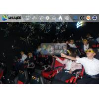 Cheap 5D Theater For Electronic Motion Control System In Theme Parks for sale