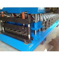 Quality Steel Roof Glazed Tile Roll Forming Machine Professional 18 Stations wholesale