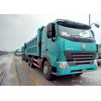 Quality 6 By 4 Ten Wheels Construction Tipper Truck For 10 Cubic Meter , HW13710 Transmission wholesale