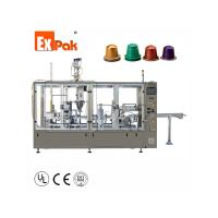 Quality Two Lane Type Nespresso Capsule Filling Sealing Machine CP5002N wholesale