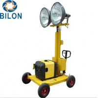 China 4X400W Diesel Generator Light Tower Industrial Portable Outdoor Light Tower on sale