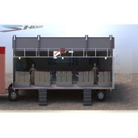 Quality Outdoor Large Mobile 5D Cinema , 12 Seats Cinema Truck wholesale