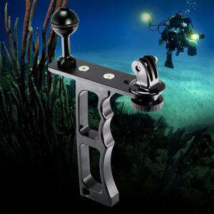 Quality Single Handheld Underwater Camera Mount , Bracket Camera Diving Arm Pistol Grip wholesale