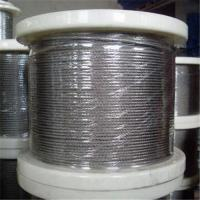 Quality Stainless Steel Wire Rope with 1 x 7, 1 to 3mm Control Cable, Available in in Grade AISI304 wholesale