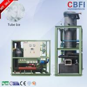 Quality CBFI 24 Hours Running Tube Ice Machine Designed for Hot Summar 1 Ton to 30 Ton Daily Capacity wholesale