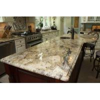 Quality Yellow River / Golden River Granite Vanity Countertops For Traditional Bathroom wholesale