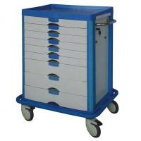 Quality CE / ISO Medical Trolley Cart , Equipment Function Hospital Crash Cart Instrument wholesale