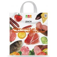 Quality Soft loop handle 100% biodegradable plastic bags plastic bag biodegradable, COMPOSTABLE wholesale
