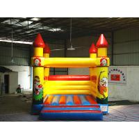 Quality Playground Commercial Inflatable Bouncers for kids with 0.55mm PVC tarpaulin wholesale
