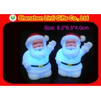 Quality Flashing color changing LED flashing toys / santa claus light toy for Christmas decoration wholesale