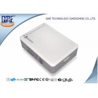 China White 6 Port Desktop  Power Supply with USB 50 w Quick Charger UL CE FCC on sale