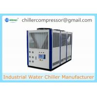 Buy cheap -10C Low Temperature Scroll Type Air Cooled Glycol Chiller for Horizontal Mixer from wholesalers