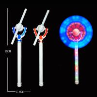 China Gift Plastic Flashing Windmill Toy 11 LEDs 4*AAA Battery Include For Child Toy on sale