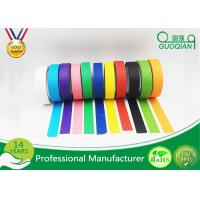 """Quality 3/4"""", 1"""", 1.5"""", And 2"""" Widths Black Crepe Masking Tape For Automotive / Window wholesale"""