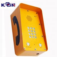 Quality GSM SOS Emergency Phone With 12 Groups Numbers Memory For Highway Call Box wholesale